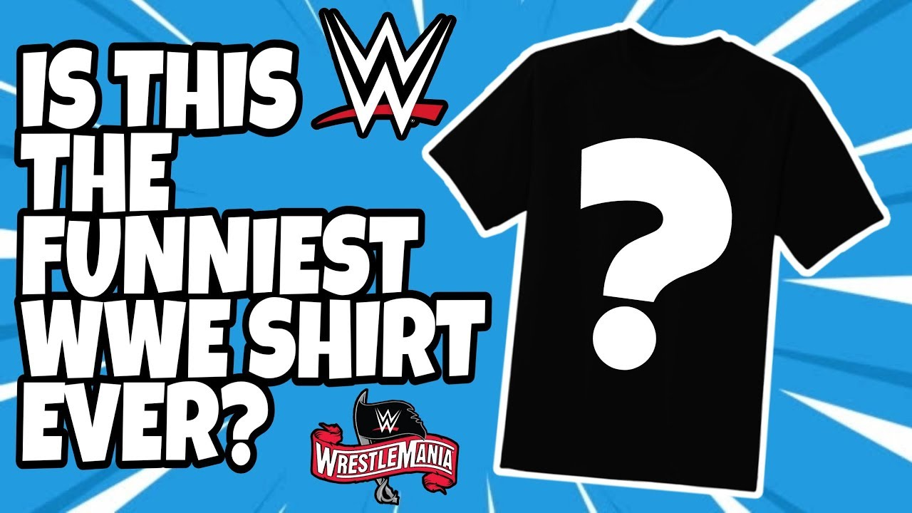 WWE Releases 'I Wasn't There' WrestleMania 36 T-Shirts Amid ...