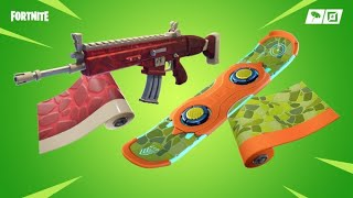 "* NEW * DINOSAUR ENVELOPMENTS ""DINO"" and TRIASSIC ""! SKIN REX and +! NEW ITEMS FROM THE FORTNITE STORE"