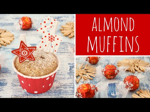 Almond Praline Muffin Recipe - Muffin Mix In A Jar - Christmas Gift | Recipe Diary