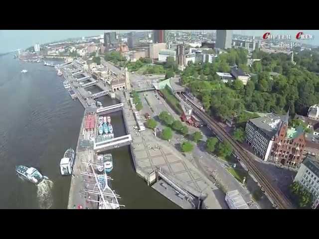Hamburg Alster, Stadt und Hafen 08 Juni 2014