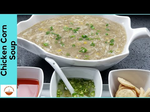 Chicken Corn Soup | Weight Loss Healthy Chicken Soup Recipe | Flavour Of Desi Food - EP 14