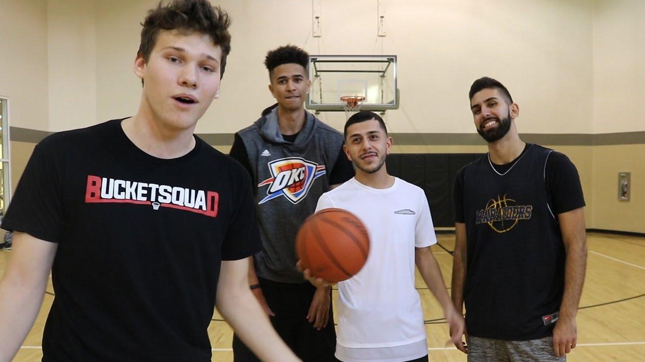 2 V 2 Basketball Jesser Lsk Vs Brawadis Squad Youtube