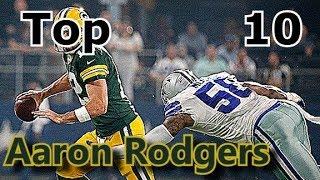 Aaron Rodgers Top 10 Plays of Career