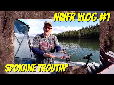 Nonstop Trout Fishing At Lake Spokane | VLOG0001
