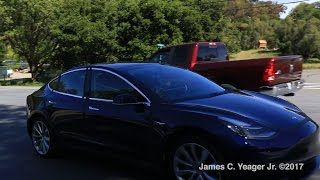 NEW Tesla Model 3 Release candidate sighting April 27, 2017