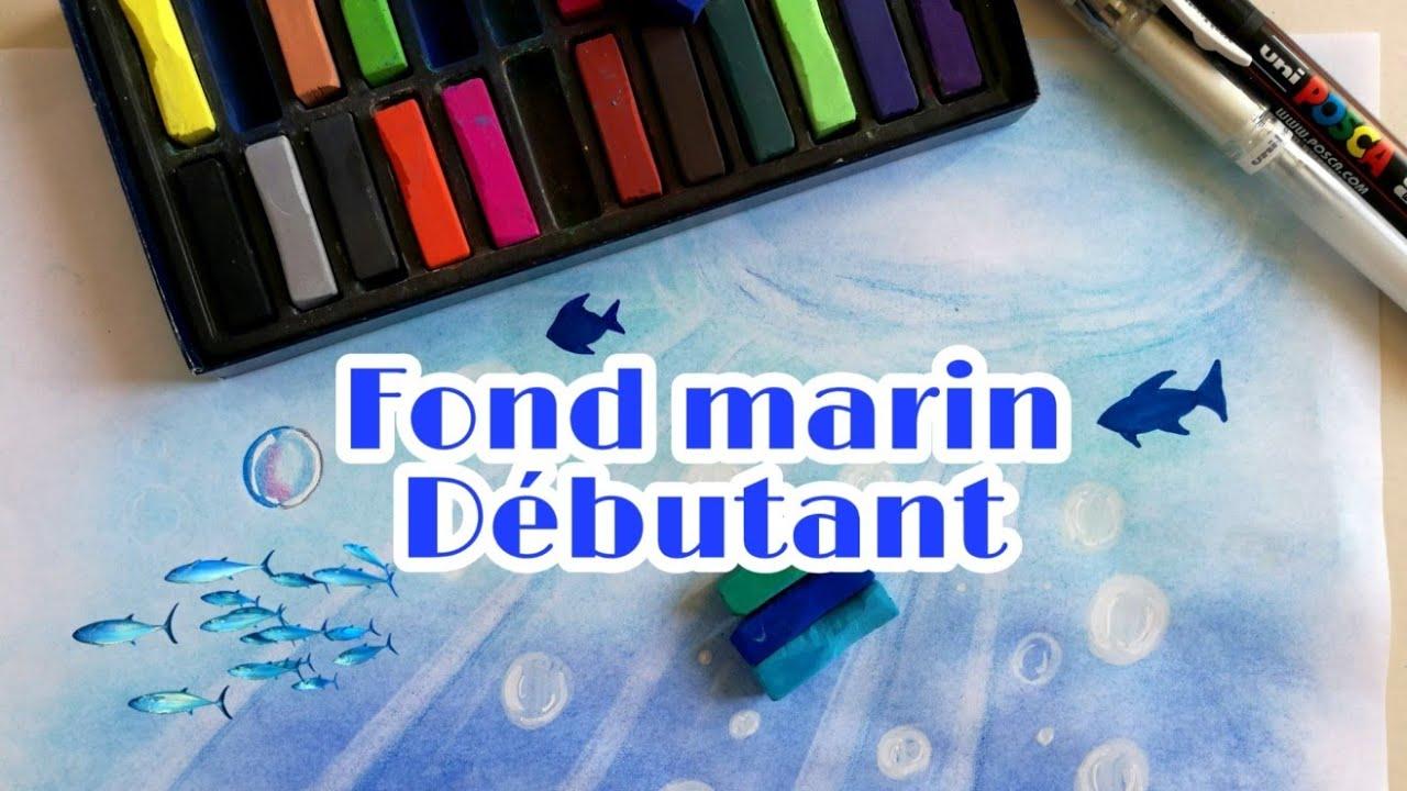 Tutoriel Fond Marin Ocean Et Dessiner Des Bulles Debutant Coloriage Pour Adultes Art Therapie Youtube
