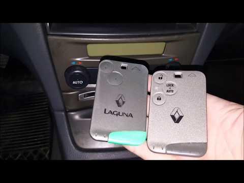 [PL/EN] Renault Laguna 2 ph 1 - Programowanie kart oraz informacje