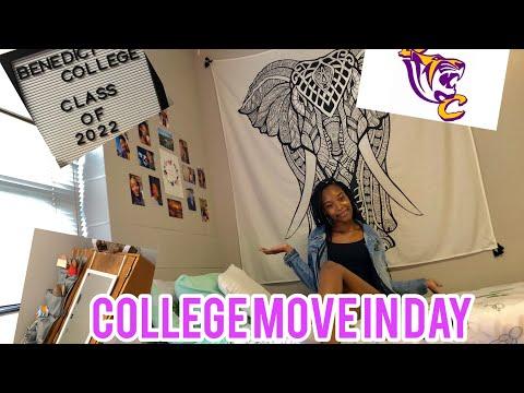 COLLEGE MOVE IN DAY| Benedict College| Dorm Tour
