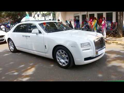 Entry of Rolls-Royce ghost in MIT,chrompet |TURBOSHIFT|