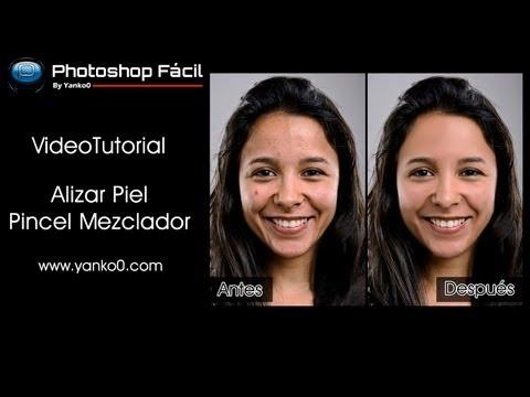 Alisar piel con el Pincel Mezclador Photoshop by @yanko0