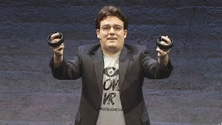 Oculus Touch Revealed! - Oculus Rift E3 2015 Press Conference