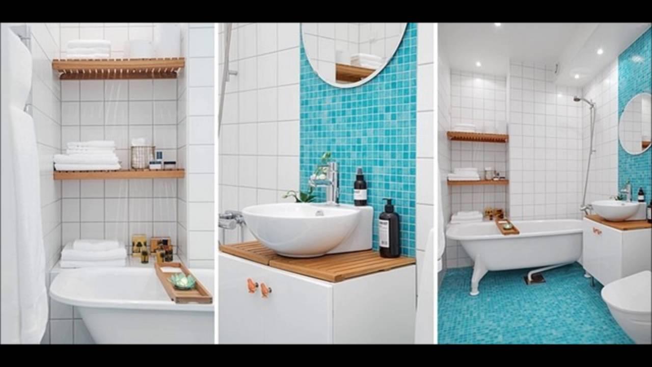 2019 Mavi Banyo Dekorasyonu