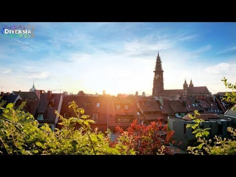 FREIBURG CITY TRIP & TOURIST TOUR GERMANY - SHOPPING STREETS & HISTORIC CENTRE