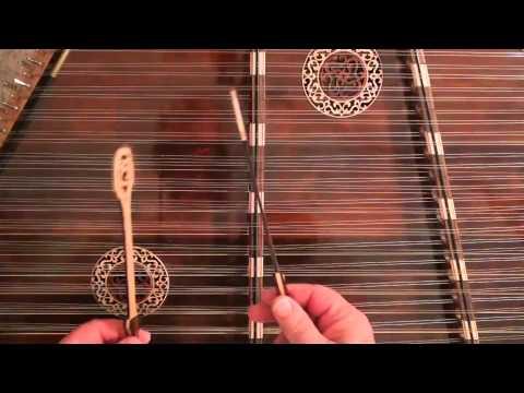 Hammered Dulcimer Instruction Video #11 - Mississippi Sawyer (part 2)