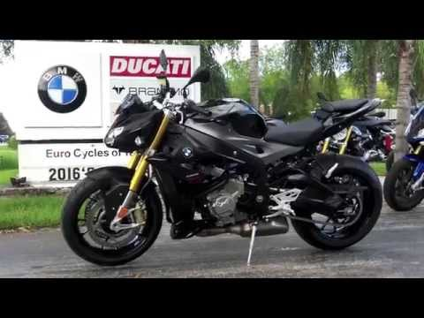 2016 BMW S 1000 R Black Storm Metallic At Euro Cycles Of Tampa Bay