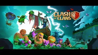 treinando as tropas do halloween Clash of Clans)