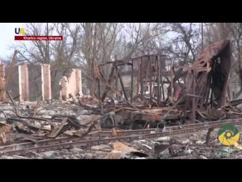 Aftermath of Deadly Fire From Ukrainian Arms Depot Blast