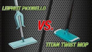 Leifheit Picobello VS Titan Twist Mop(Handige hulpmiddelen. Maakt het leven makkelijk. Deze handige vloerwisser maakt het schoonmaken en uitwringen tot een kinderspel. Een innovatie onder de ..., 2016-10-07T07:36:31.000Z)
