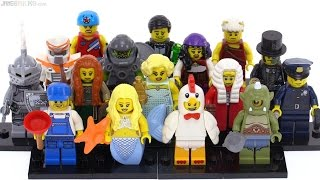 LEGO series 9 Collectible Minifigures from 2013 reviewed!