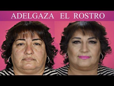 TRUCOS PARA ADELGAZAR EL ROSTRO / Maquillaje para Cara Redonda