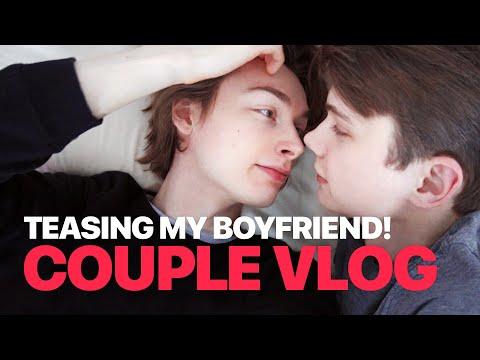 Teasing My Boyfriend! — Couple VLOG