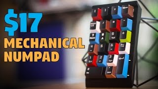 SeenDA / Jelly Comb Mechanical Numpad - Unboxing, Quick Review, & Mod
