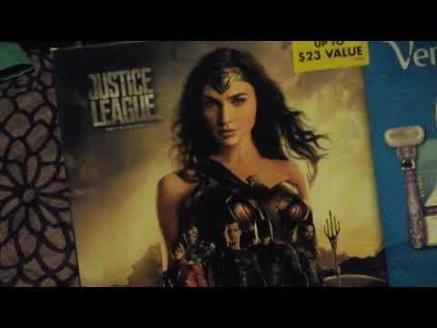 Gillette   unboxing gift  set  justice  league  Wonder Woman style   for Woman's