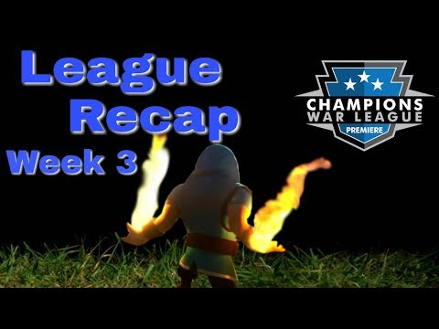 CWL Premiere League Recap | Week 3 | Surprises and Upsets