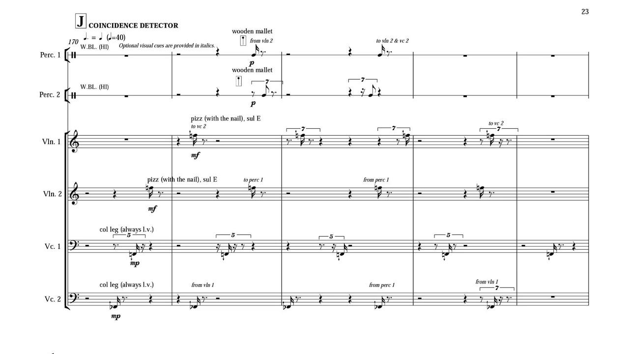 robert wannamaker grain w score for 17 instruments 2005  [ 1280 x 720 Pixel ]