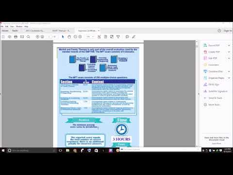 Marriage & Family Therapy Licensure Exam Prep