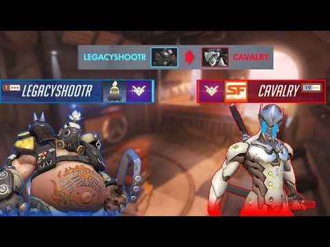 THE BEST KIND OF MATCH-UP (Overwatch)