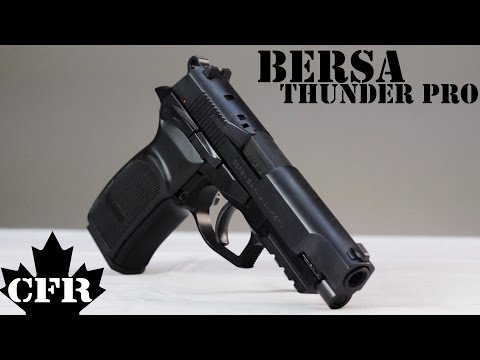 Bersa Thunder Pro 9mm Review