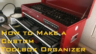 How To Make A Custom Toolbox Organizer