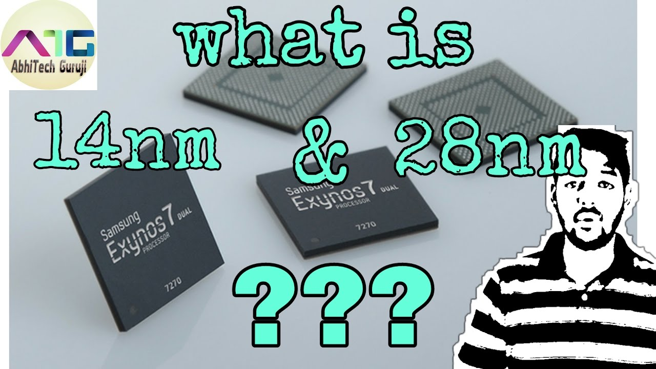 What is 14nm and 28nm Processor??? [HINDI]