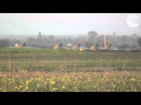 Ракетные установки Азербайджана обстреливают Нагорный Карабах