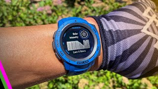 Garmin Instinct Solar GPS Sportswatch // Everything New!!