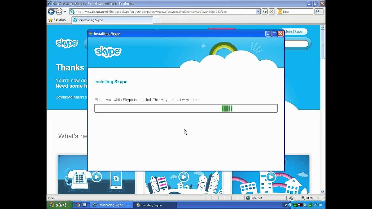 skype for win xp sp2 free download