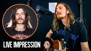 Ace Of Spades (Acoustic Live Cover & Lemmy impression) - Mötorhead