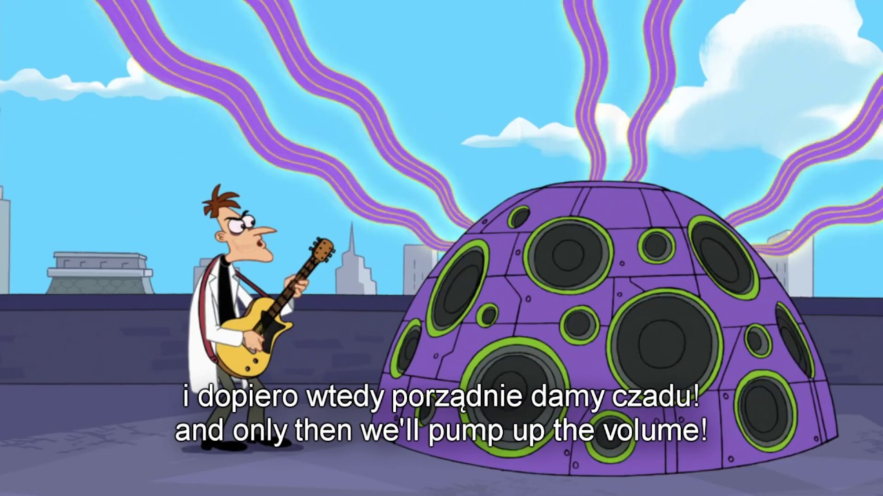 Phineas And Ferb Guitar: Egyptian Guitar Solo [Polish