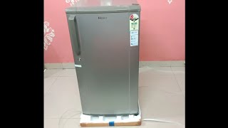 Haier 170L 2 Star Refrigerator Review and Unboxing at 9790 - HED-17TMS Direct cool single door