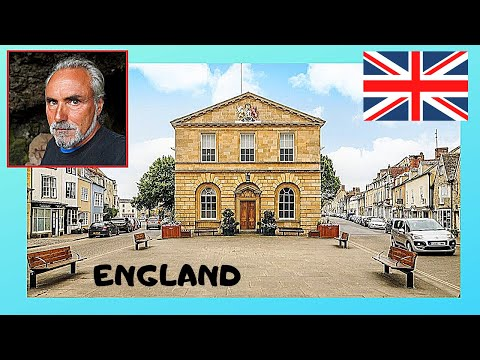 ENGLAND: The beautiful village of WOODSTOCK,  the site of BLENHEIM PALACE (OXFORDSHIRE)