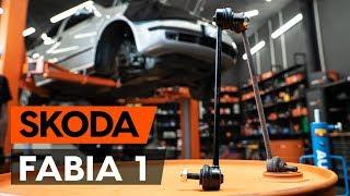 Τοποθέτησης Ακρα ζαμφορ εμπρος δεξιά SKODA FABIA: εγχειρίδια βίντεο