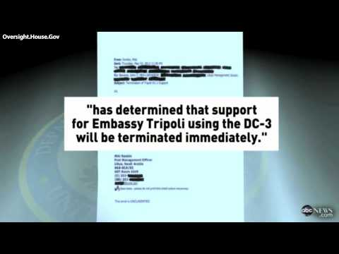 LIBYA: Email Details Denial for Security-Enhancing Transportation