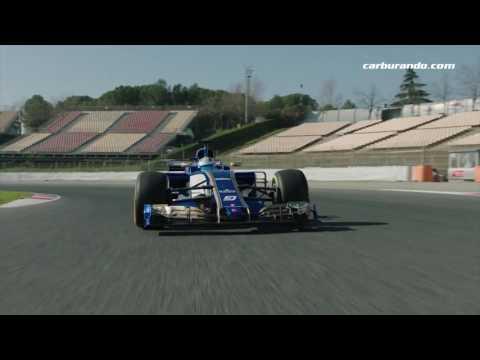 #F1 - El Sauber 2017 salió a pista (22-02-2017) Carburando.com
