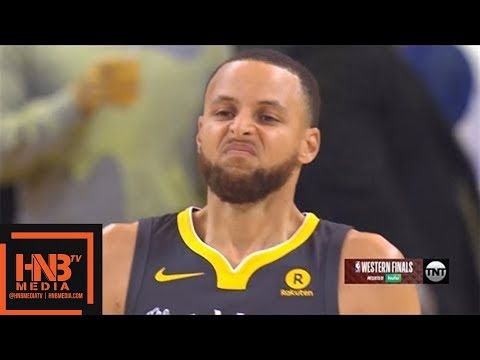 Golden State Warriors vs Houston Rockets 1st Qtr Highlights / Game 4 / 2018 NBA Playoffs