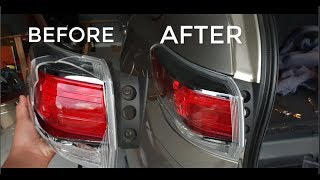 Toyota Kluger 2014 Tail Light Fix   EASY!!!