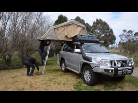 Allan Whiting - ARB rooftop tent & Allan Whiting - ARB rooftop tent - YouTube