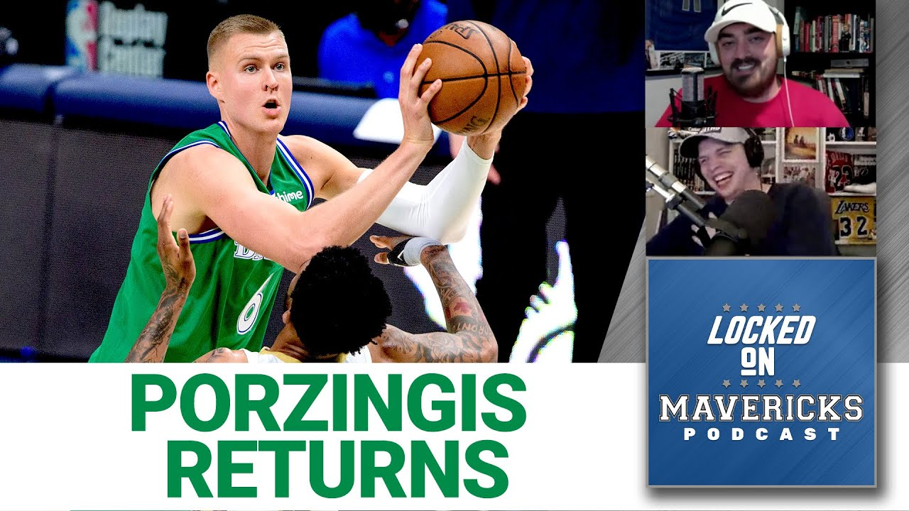 Mavs win Porzingis' return