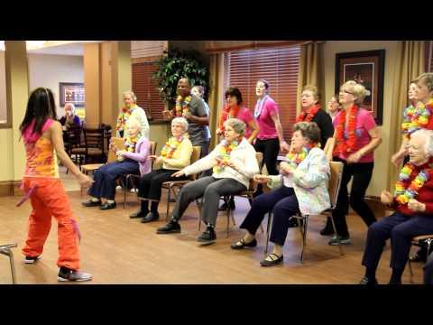Marifa Mac's  #Zumba® Gold Challenge February 2015