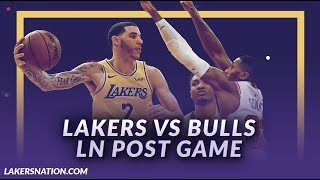 Lakers Discussion: Lakers Beat the Bulls, New Starting Lineup, Lonzo w/ Team High 19 Points